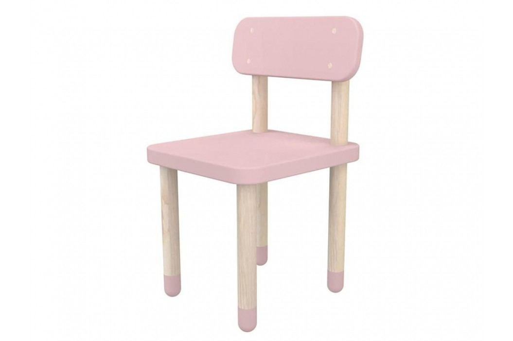 FLEXA Play Stuhl mit Rückenlehne Rosa 82-10059-69 Kinderstühle