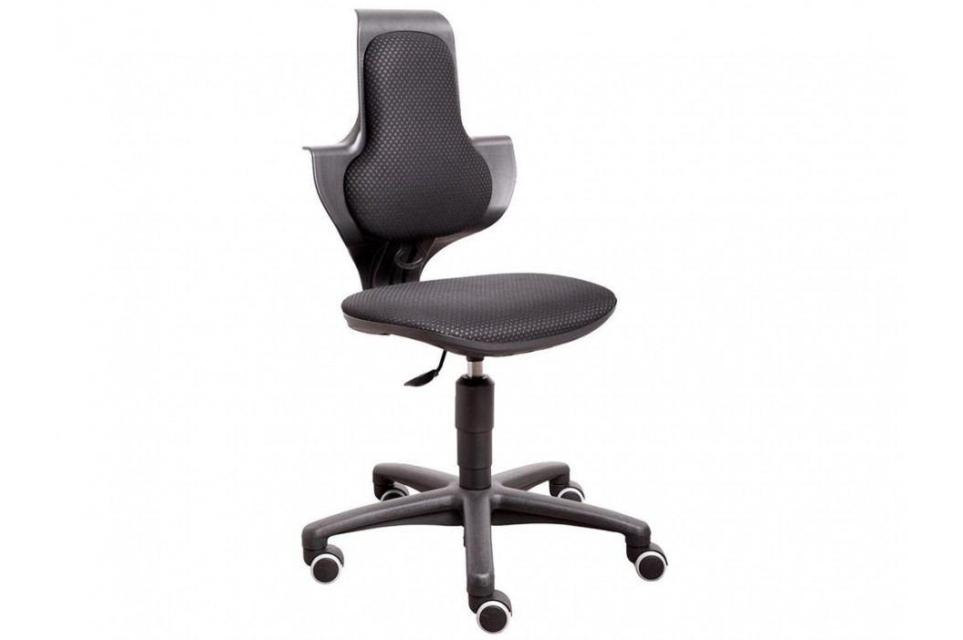 FLEXA Drehstuhl Study in Schwarz mit ergonomischer Sitzfläche 82-10055 Kinderstühle