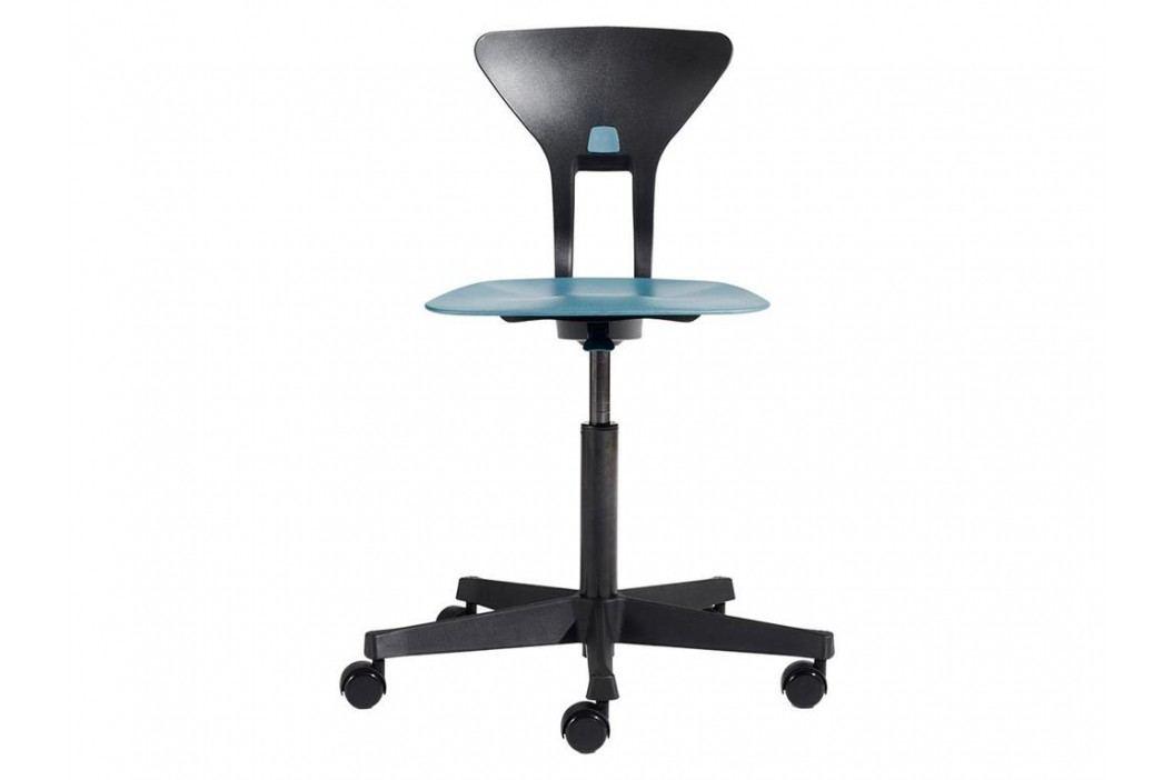 FLEXA Drehstuhl Ray in Blau-Schwarz mit ergonomischer Sitzfläche 82-10033 Kinderstühle