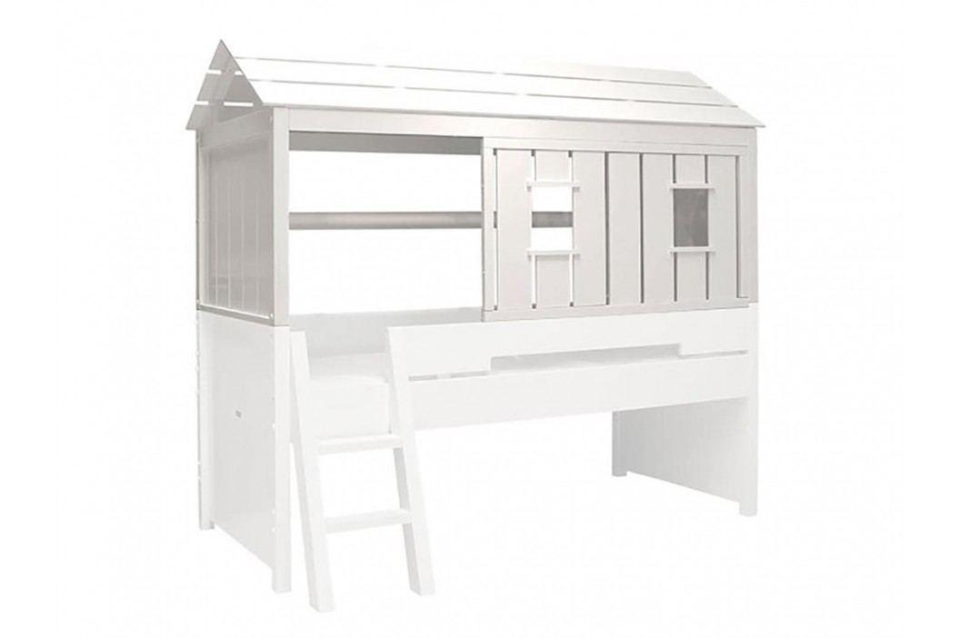 BOPITA Combiflex Baumhaus Aufsatz Weiß 47514611 Kinderbetten