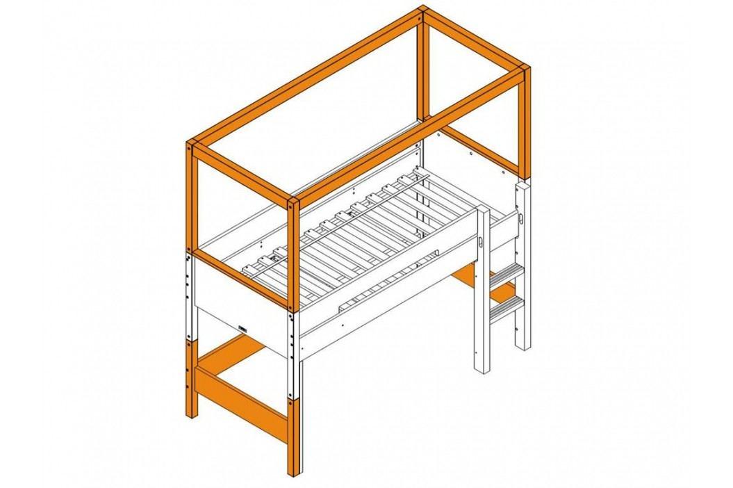 BOPITA Combiflex Supportset / Umbausatz zum halbhohen Himmelbett Deep Grey 42514620 Kinderbetten