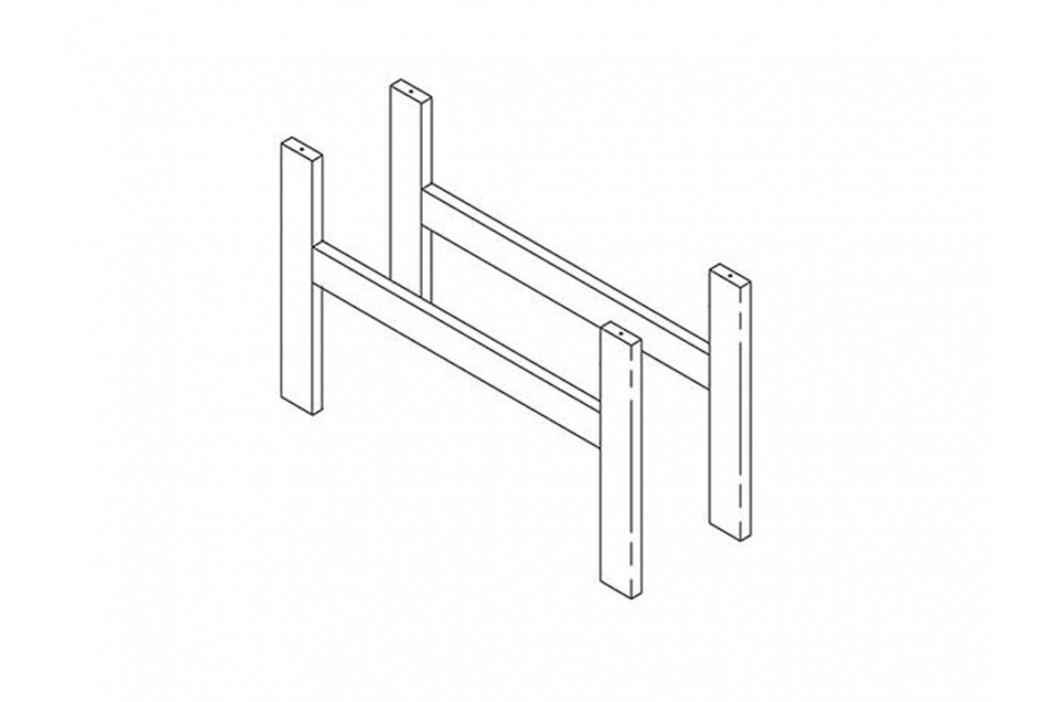 LIFETIME Original Bausatz Kopf / Fuß Unterbau - Zwischenteil Etagenbetten