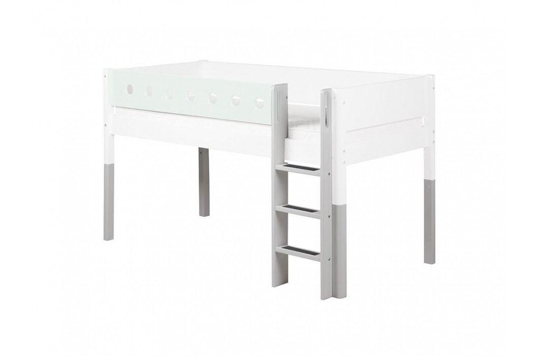 FLEXA White Umbausatz für Spielbett gerade Leiter und Pfosten 80-17319-40 Etagenbetten