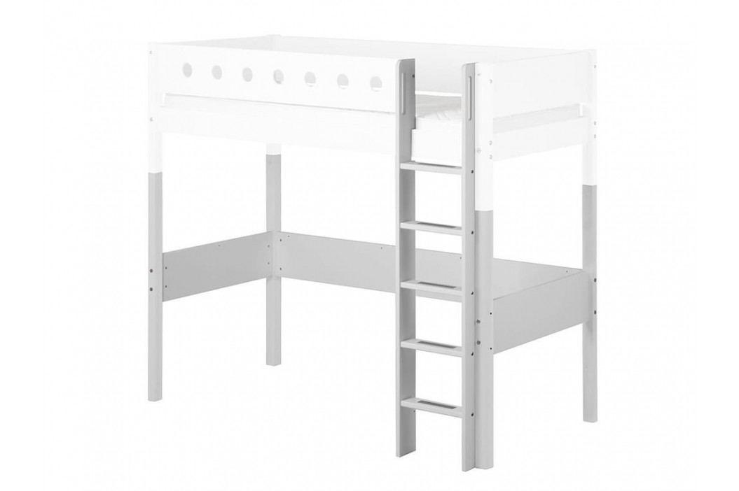 FLEXA White Umbausatz für Hochbett 90x190cm Gerade Leiter und Pfosten 80-17507-40 Kinderbetten