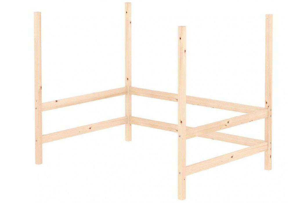 FLEXA Classic Umbausatz für Hochbett Liegefläche 140x200cm 80-01520-1 Kinderbetten