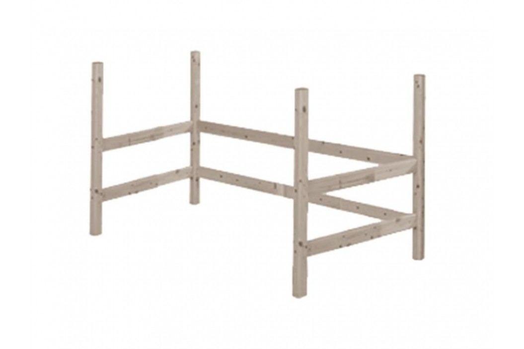 FLEXA Classic Umbausatz für Hochbett Liegefläche 90x190cm 80-01503-11 Kinderbetten