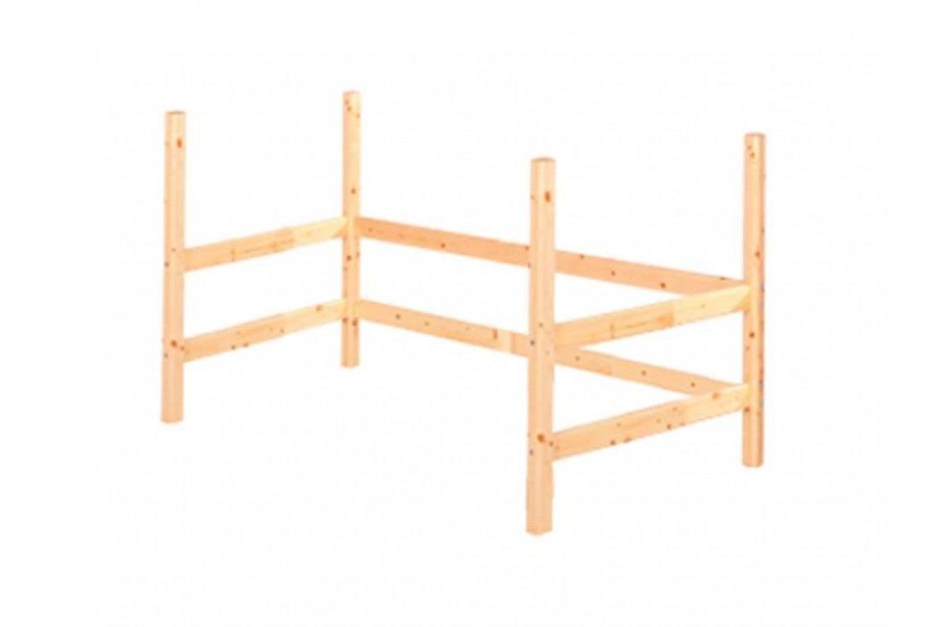 FLEXA Classic Umbausatz für Hochbett Liegefläche 90x190cm 80-01503-1 Kinderbetten