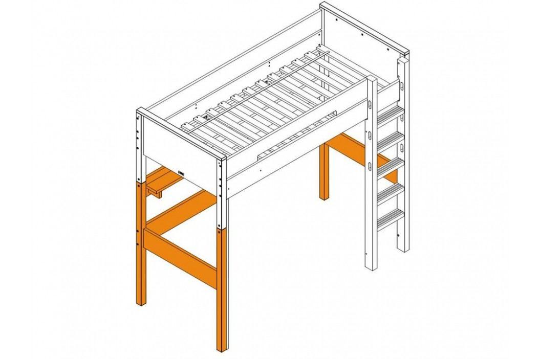 BOPITA Combiflex Supportset / Umbausatz zum Hochbett XL Weiß 42214611 Kinderbetten