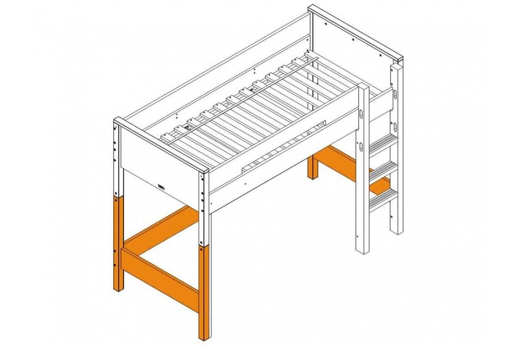 BOPITA Combiflex Supportset / Umbausatz zum Hochbett Weiß 42114611 Kinderbetten