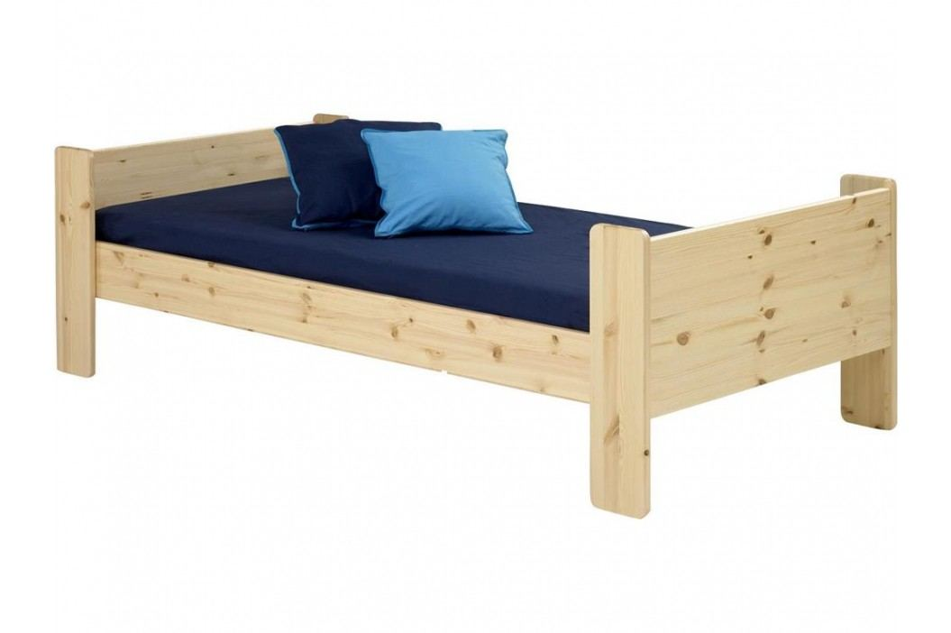 STEENS for Kids Einzelbett mit Rolllattenrost Kiefer massiv Bettliege 2906490019001N Kinderbetten