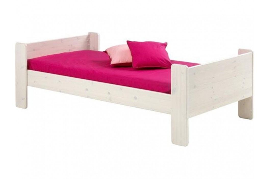 STEENS for Kids Einzelbett mit Rolllattenrost Kiefer massiv Bettliege Kinderbetten