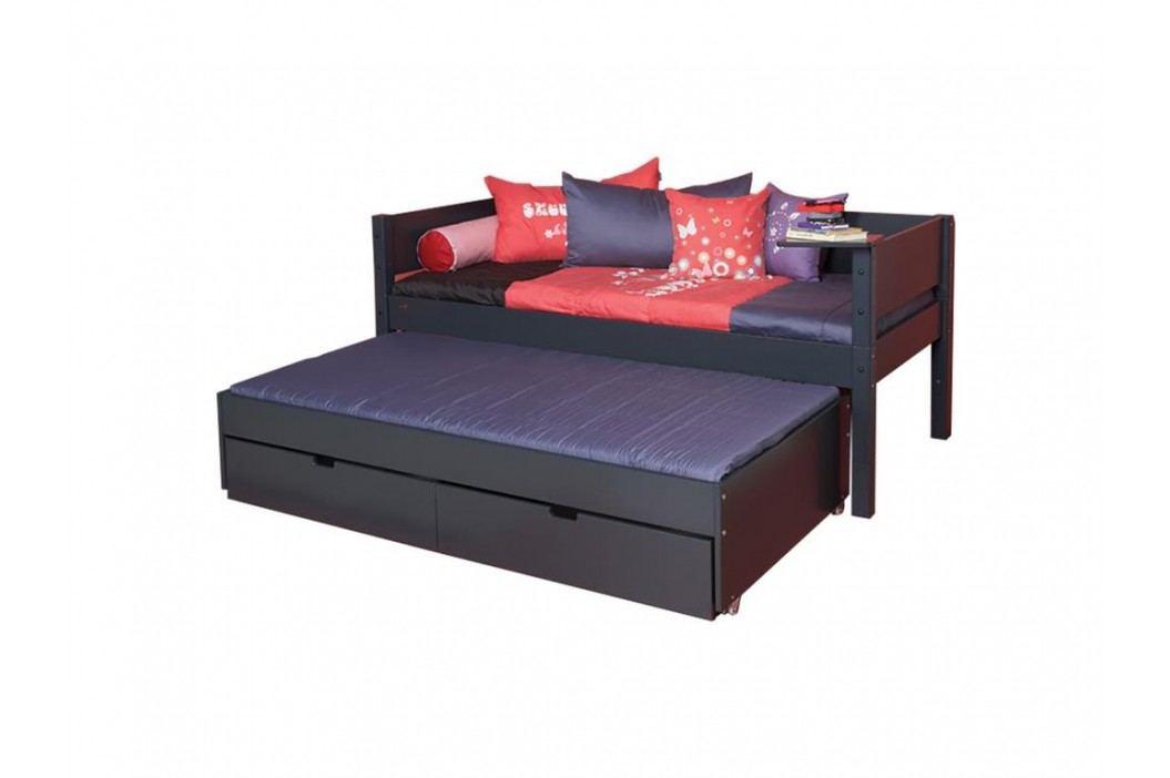 MANIS-H Bettliege mit Gästebett 2 Schubladen und Rolllattenrost Kinderbetten