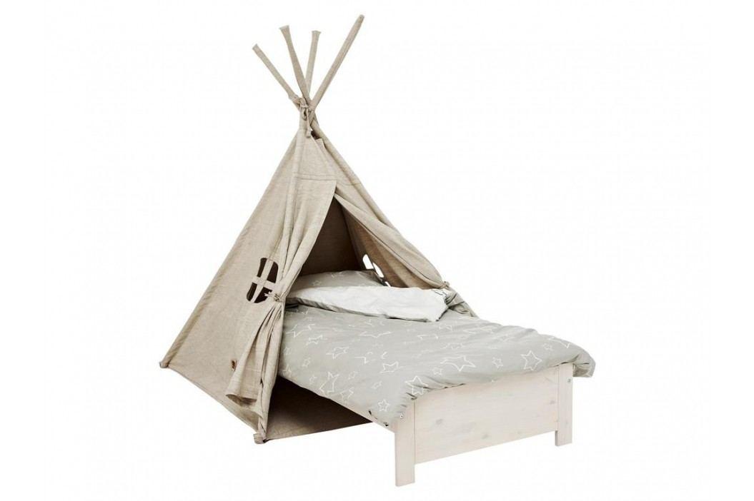 LIFETIME Original Zelt Bett Camp Canyon mit Rolllattenrost , Indianer Bett Kinderbetten