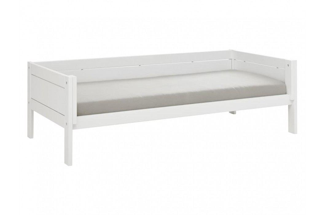 LIFETIME Basisbett Weiß für 4 in 1 Kombination inkl. Deluxe Lattenrost Original 6111-GREY Kinderbetten