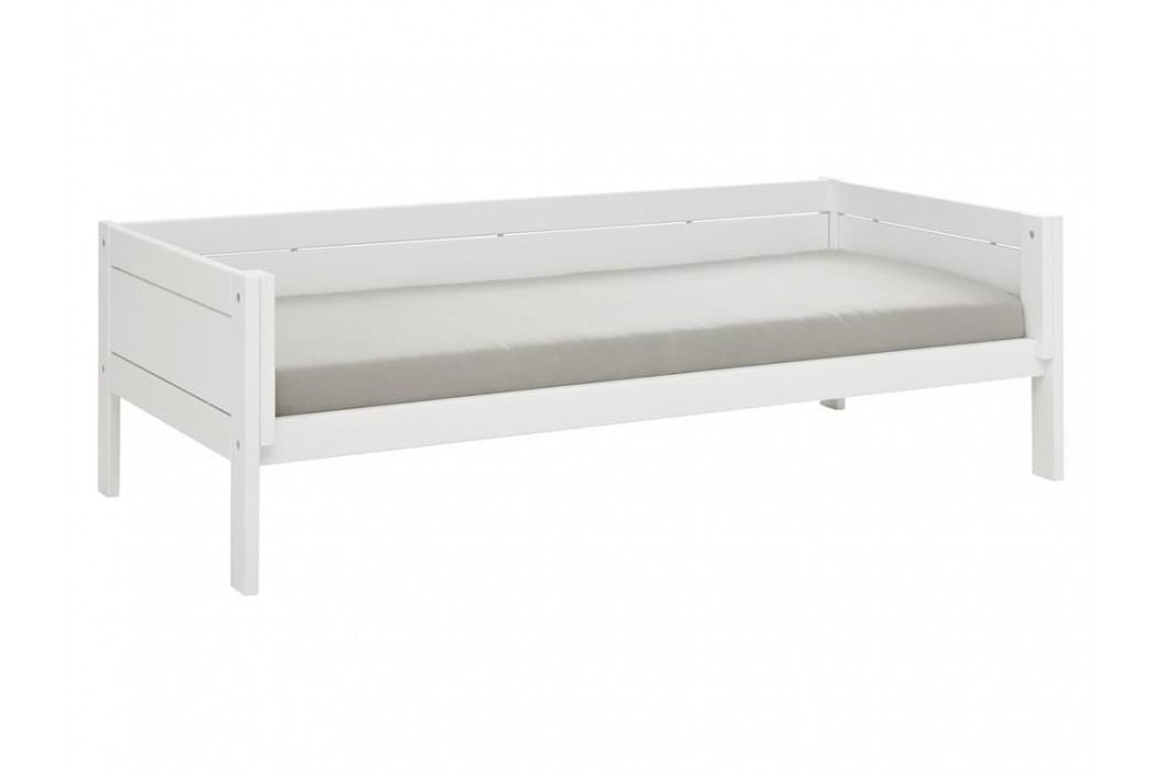 LIFETIME Basisbett Weiß für 4 in 1 Kombination inkl. Deluxe Lattenrost Original Kinderbetten