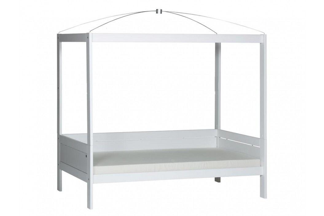 LIFETIME Original Himmelbett Weiß mit Deluxe Lattenrost 46341 46341-10 Kinderbetten