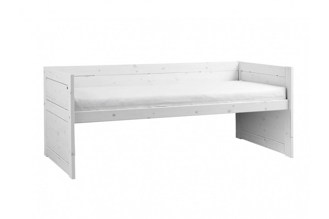 LIFETIME Kojenbett mit Gästebett Bettkasten und Rollrost Original 47109-01W Kinderbetten