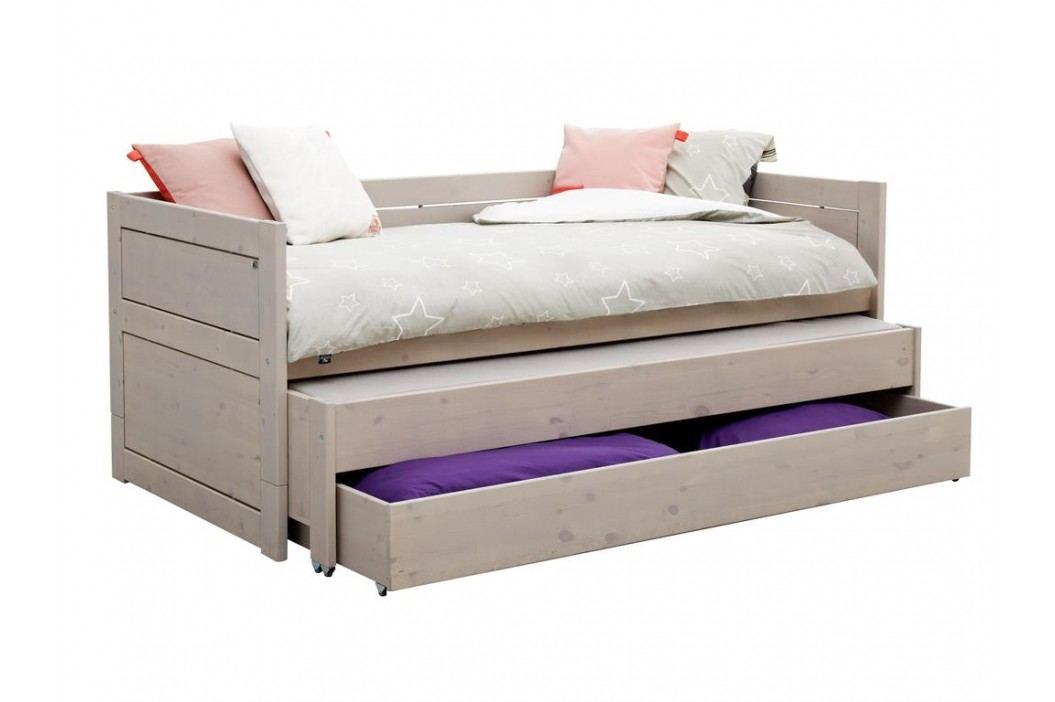 LIFETIME Kojenbett mit Gästebett Bettkasten und Rollrost Original Kinderbetten