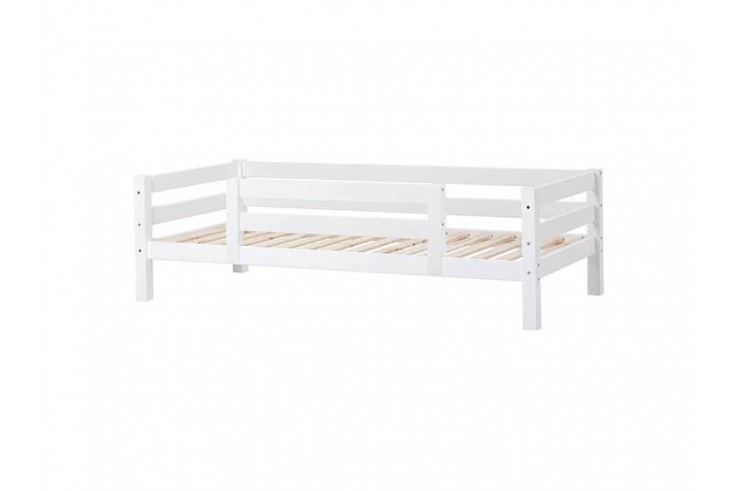 HOPPEKIDS Premium Sofabett mit Lattenrost 1/2 Absturzsicherung und Rückenleiste PRE-B3-1 Kinderbetten