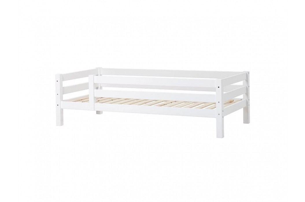 HOPPEKIDS Premium Sofabett mit Lattenrost Rückenleiste und 3/4 Absturzsicherung PRE-A2-1 Kinderbetten