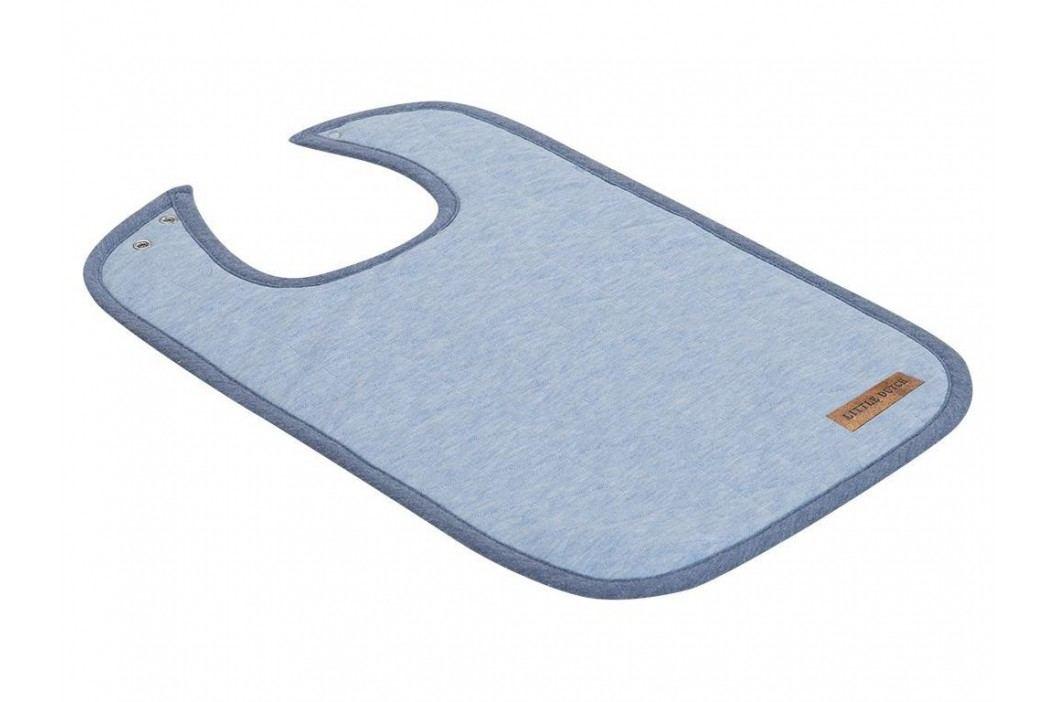 LITTLE DUTCH Melange Lätzchen Blue 4227 Lätzchen