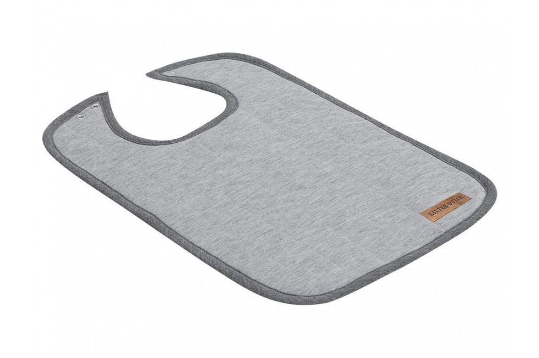 LITTLE DUTCH Melange Lätzchen Grey 4221 Lätzchen