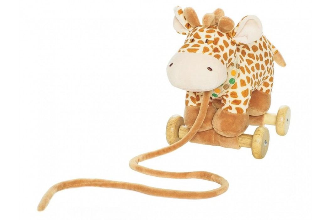 TEDDYKOMPANIET® Diinglisar Zugtier Wild Giraffe 452432 Spielzeug