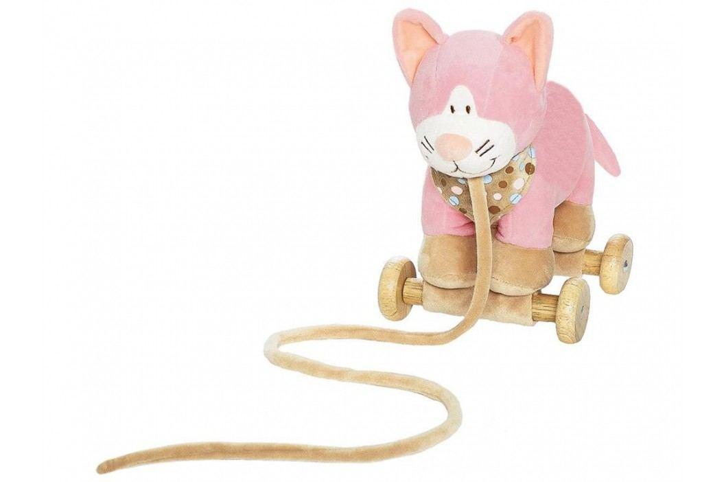 TEDDYKOMPANIET® Diinglisar Zugtier Katze 452428 Spielzeug