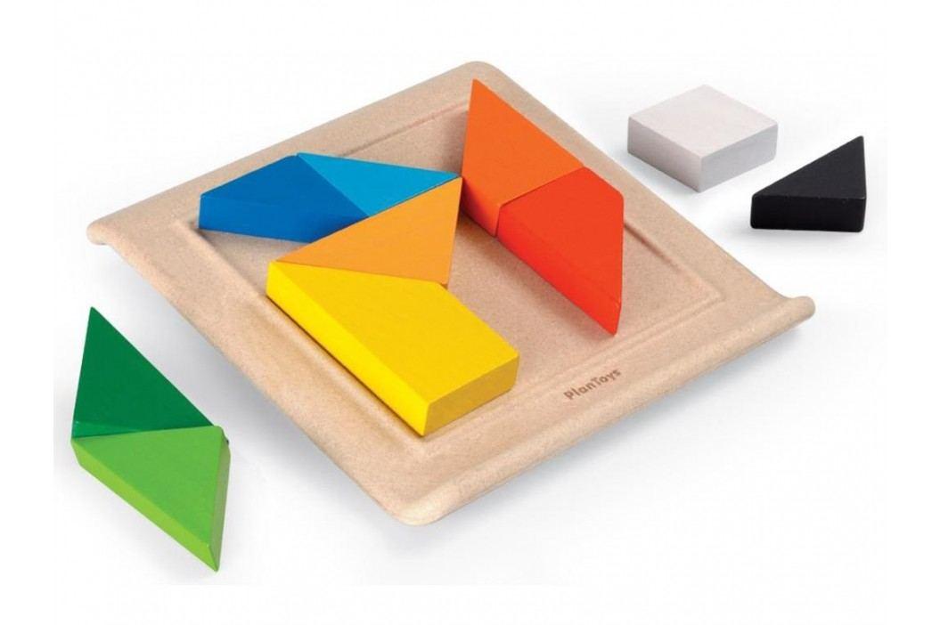 PLAN TOYS PlanToys Lernspiel Drehpuzzle 4005649 Holzspielzeug