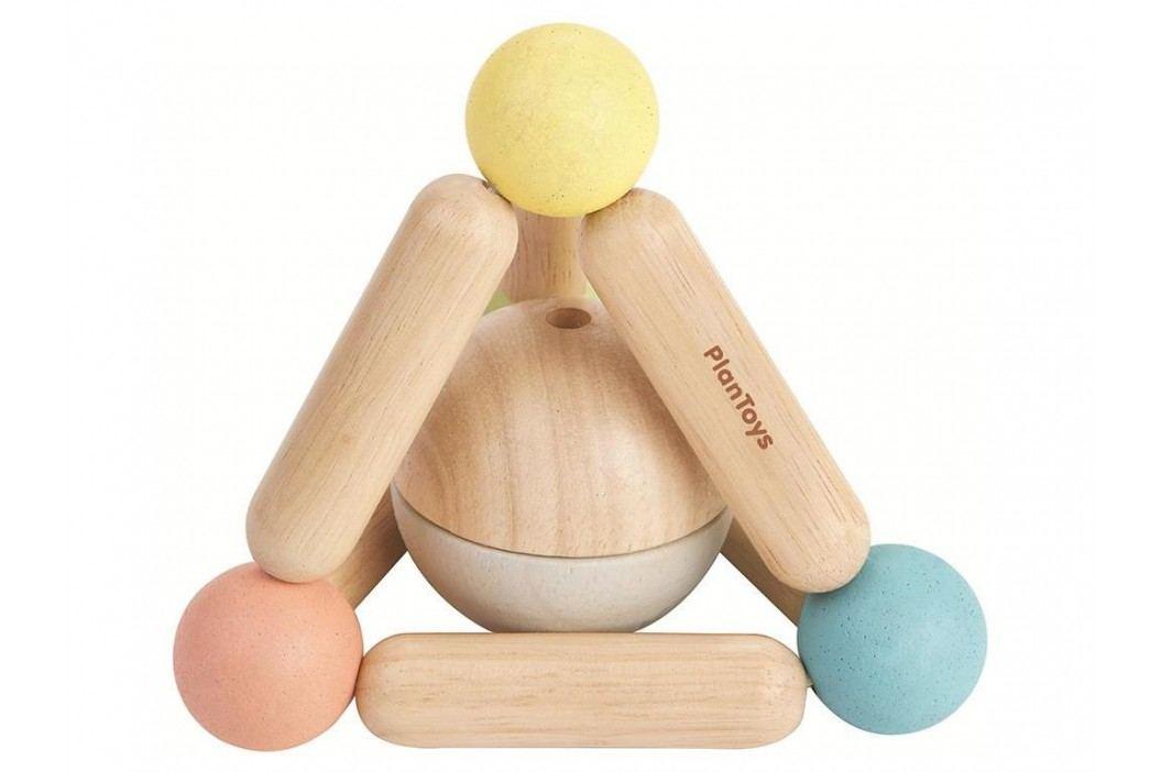 PLAN TOYS PlanToys Babyspielzeug Pyramide Pastell 4005256 Babyspielzeug