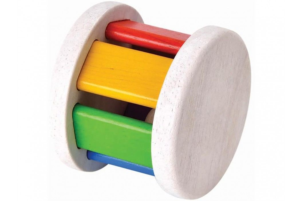 PLAN TOYS PlanToys Krabbelspielzeug Walze Bunt 4005220 Babyspielzeug
