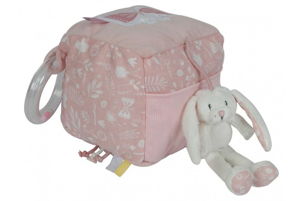 LITTLE DUTCH Adventure Activity Fühlwürfel Hase Pink 4622 Babyspielzeug