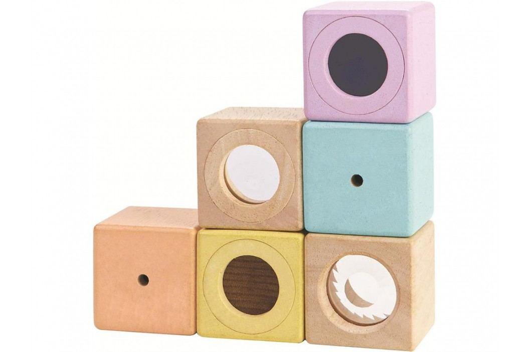 PLAN TOYS PlanToys Sinnesklötze Pastell 4005257 Spielzeug