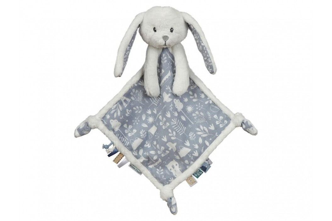 LITTLE DUTCH Adventure Kuscheltuch Hase Blue 4627 Spielzeug