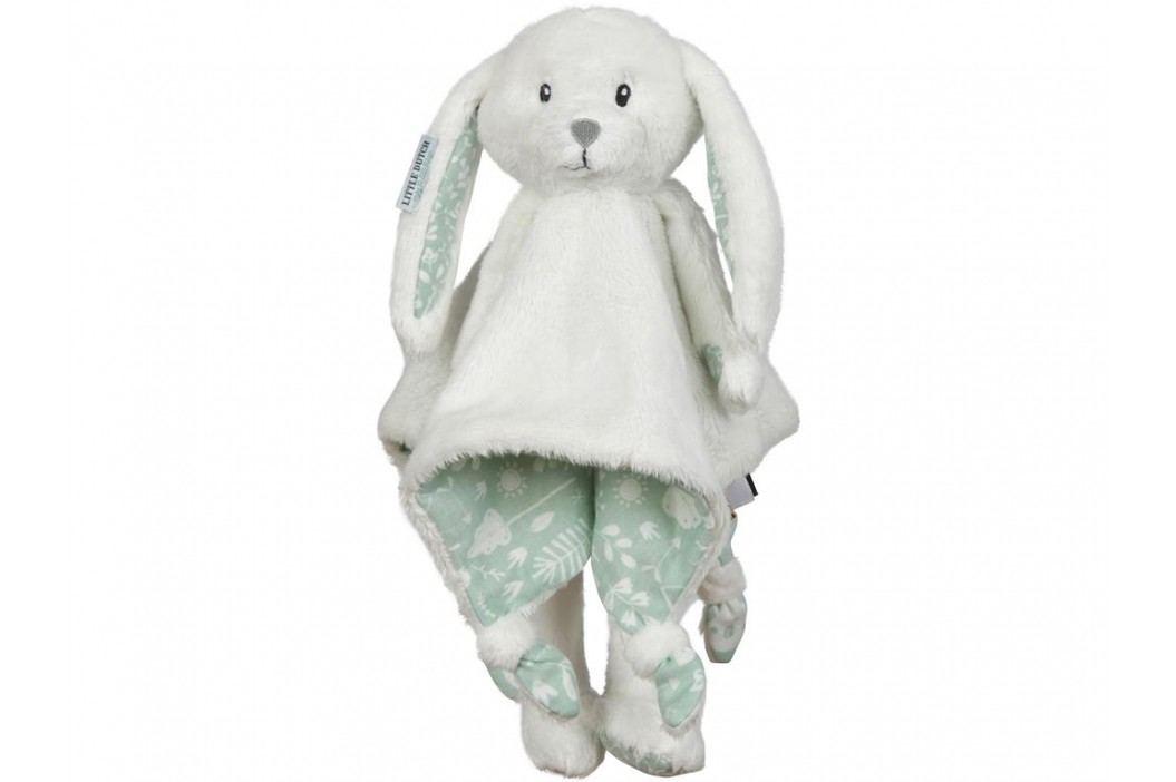 LITTLE DUTCH Adventure Kuscheltuch Hase Groß Mint 4617 Spielzeug