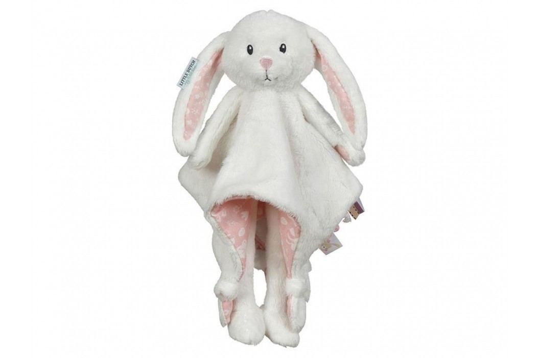 LITTLE DUTCH Adventure Kuscheltuch Hase Groß Pink 4616 Spielzeug