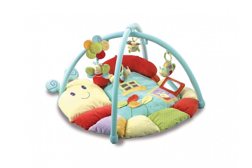 LITTLE BIRD TOLD ME , Erlebnisdecke Raupe mit Spielbogen LB3006 Babyspielzeug
