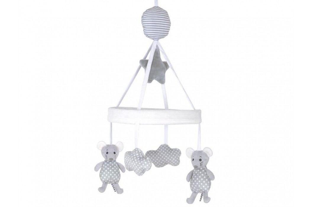 JABADABADO Musik Stoffmobile Maus N0102 Babyspielzeug