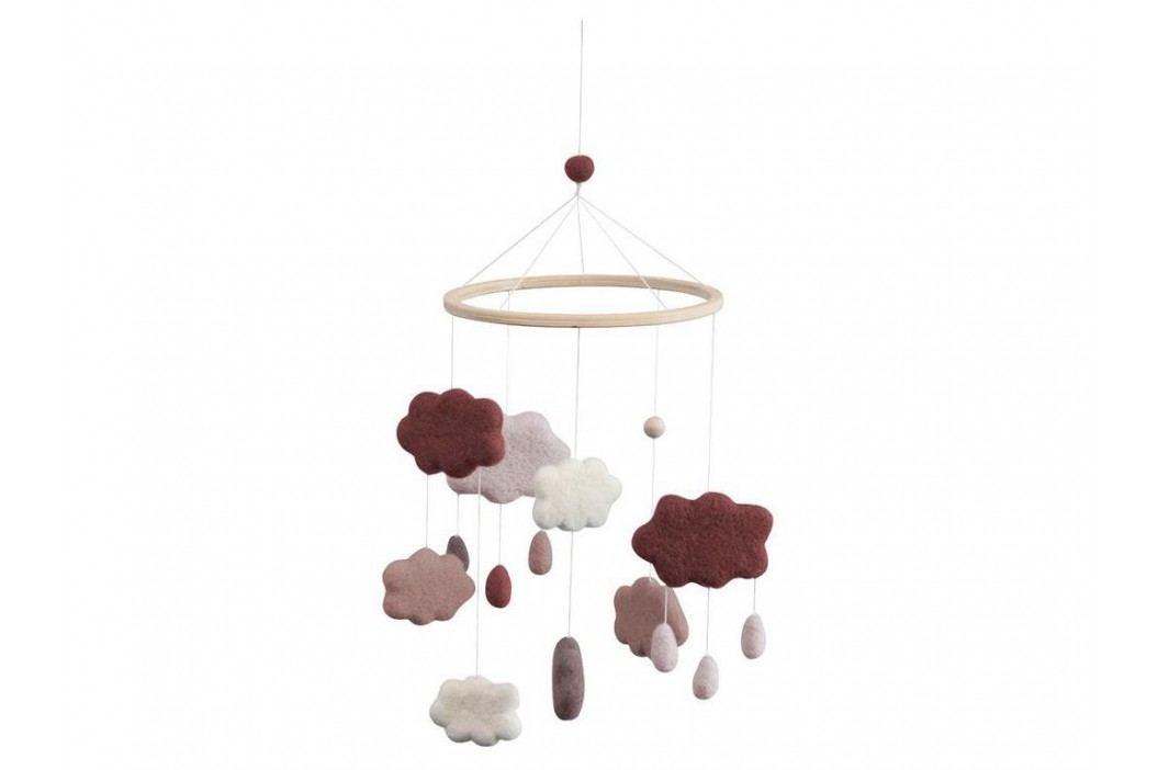SEBRA® Wolkenmobile Filz Pflaume 8018201 Babyspielzeug