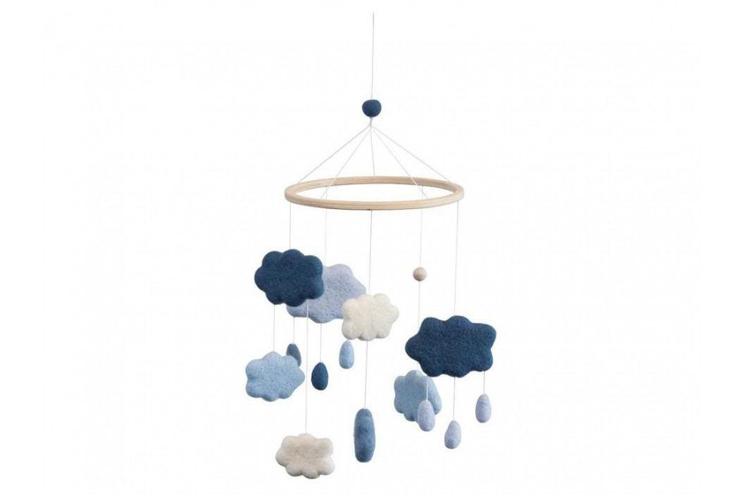 SEBRA® Wolkenmobile Filz Blau 8018101 Babyspielzeug