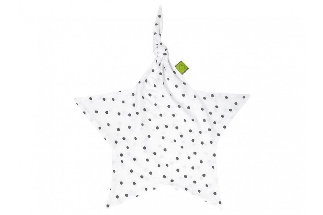 JULIUS ZÖLLNER Dots Grau Jersey Stern Schnuffeltuch Dots 8841068260 Spielzeug