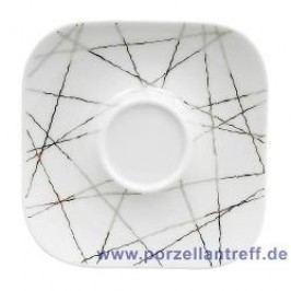 Rosenthal Studio-line Free Spirit Stars Espresso Saucer Quad. 10.5 cm