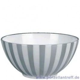 Wedgwood Jasper Conran Platinum Stripe / Vertigo Flamed Bowl 14 cm