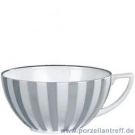 Wedgwood Jasper Conran Platinum Stripe / Vertigo Flamed Coffee / Tea Cup