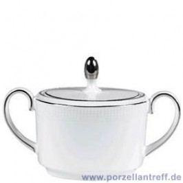 Wedgwood Vera Wang Blanc sur Blanc Sugar Bowl 10 cm