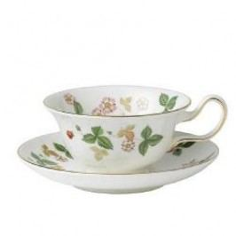 Wedgwood Wild Strawberry Saucer for Leigh, Peony