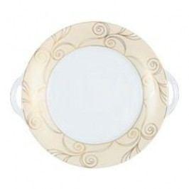 Tettau Jade Velluto Pie Platter with Handle 28 cm