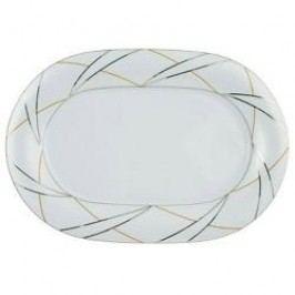 Tettau Jade Silk Oval Platter Large 36 cm