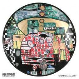 Königlich Tettau Hundertwasser Dinner Service Charger Plate / Underplate Multicolored