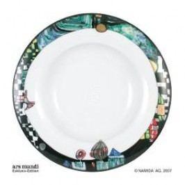 Königlich Tettau Hundertwasser Dinner Service Soup Plate
